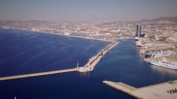Marsiglia e il quartiere ecologico riscaldato dall'acqua del Mediterraneo