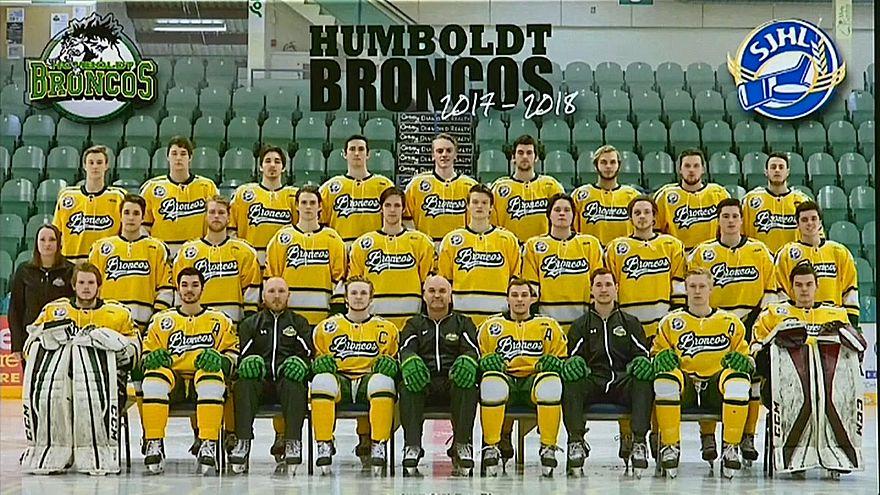 Канада оплакивает погибших хоккеистов