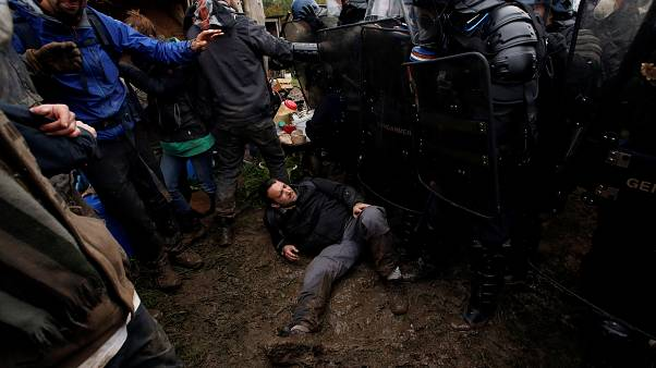 Fransa'da çevrecilere polis operasyonu