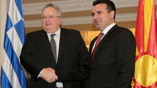 Ο υπ. Εξωτερικών με τον πρωθυπουργό της πΓΔΜ στις 28 Μαρτίου στα Σκόπια