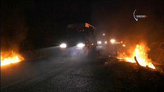 Violentos disturbios en el desalojo de un campamento en Francia