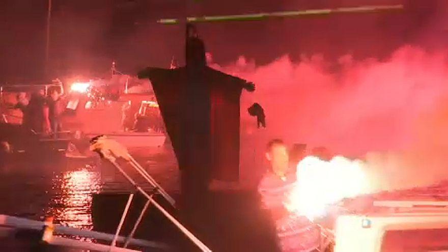 Júdás-égetés Görögországban