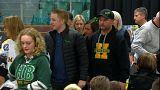 Trauerfeier für das verunglückte Eishockey-Team