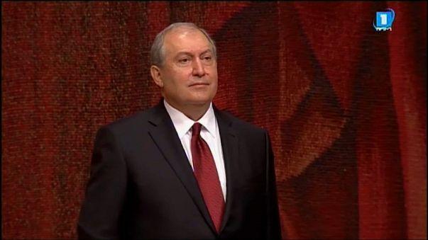 Армен Саркисян вступил в должность президента Армении