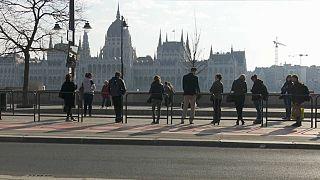 Dos mundos opuestos en Hungría