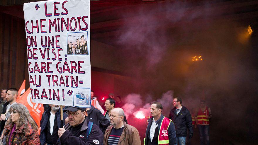 Francia campione di scioperi