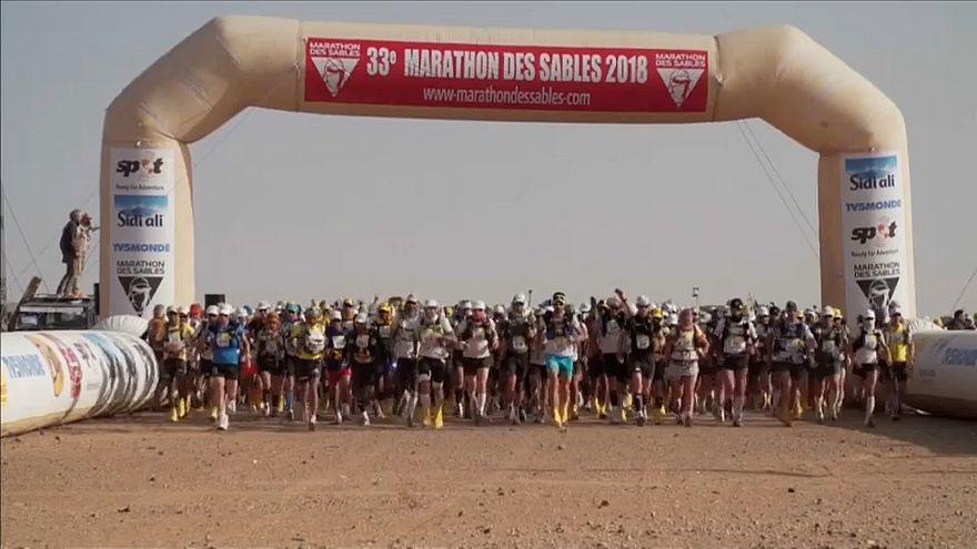 Marathon des Sables: avanti i fratelli El Morabitz e la russa Sedykh