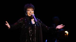 Liza Minnelli's iconic items on display