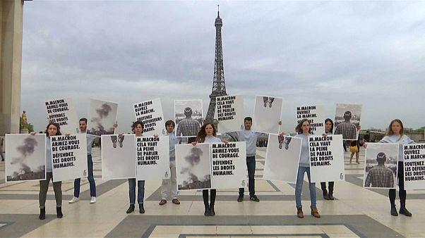 saudi amnesty protest