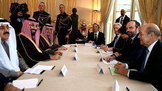 Deuxième jour de visite pour le prince héritier saoudien
