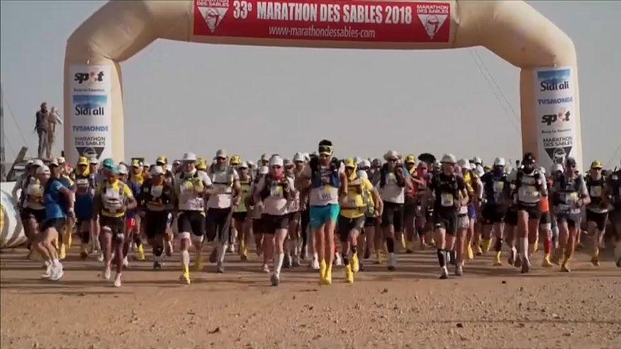 ماراثون الرمال 2018