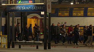 Francia en pie de huelga por la reforma ferroviaria