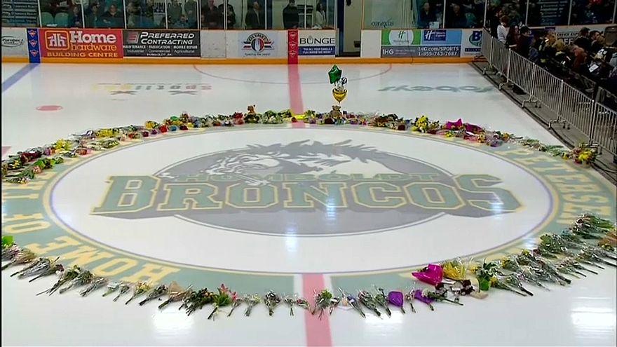 Emotional vigil held for Canada bus crash victims