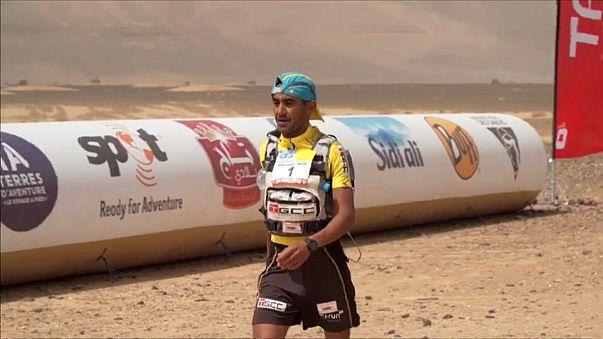Marathon des Sables: Rachid El Morabity edges brother Mohamed