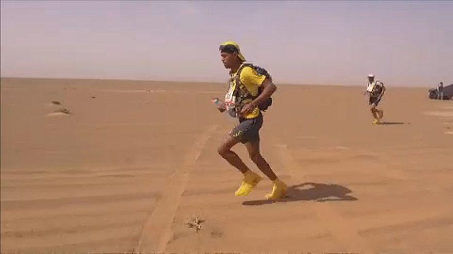 Marokkói fivérek vezetik a világ egyik legkegyetlenebb maratonját