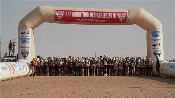 Rachid El Morabity e Natalia Sedykh vencem na Maratona das Areias