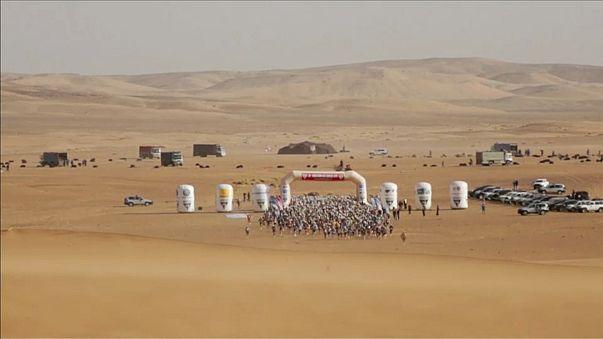 254 km'lik Çöl Maratonu'nda ikinci gün