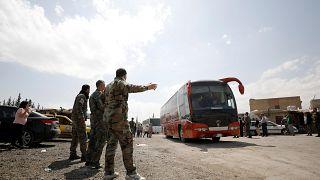 Siria: l'evacuazione di Douma