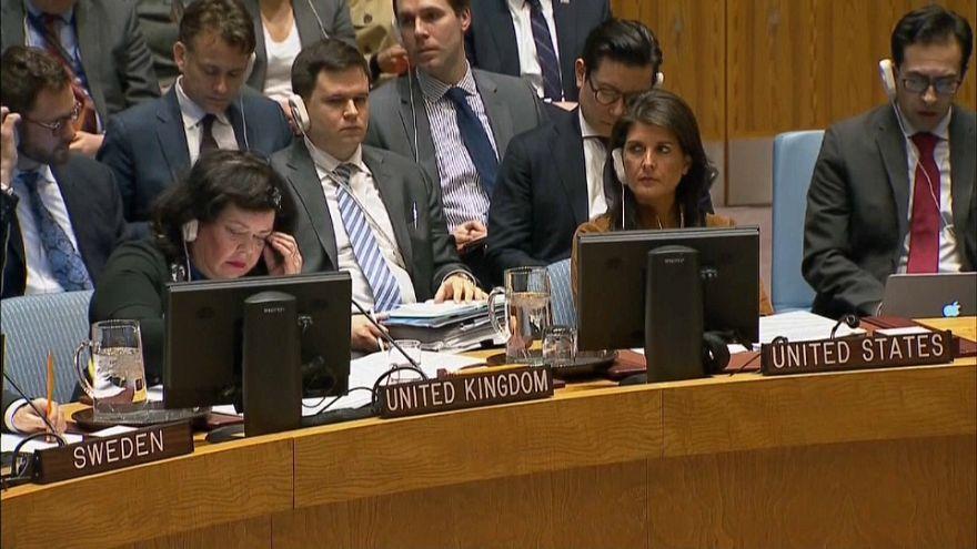 EEUU responderá al ataque en Duma con o sin el aval de la ONU