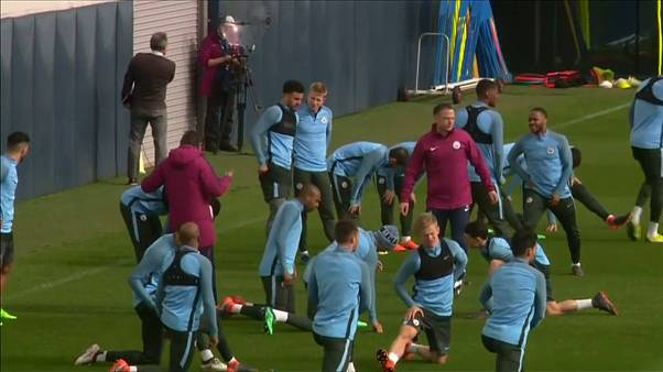 مانشستر سيتي يتحضر لمباراة الإياب مع ليفربول