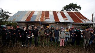 Notre-Dame-des-Landes : l'évacuation se poursuit