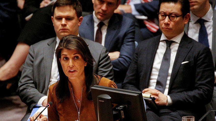 الولايات المتحدة: سنرد على هجوم دوما بغض النظر عن قرار مجلس الأمن
