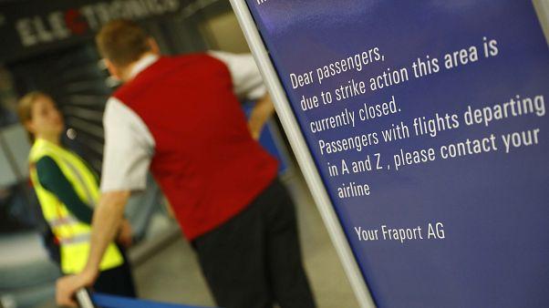 Απεργιακό «έμφραγμα» στα αεροδρόμια