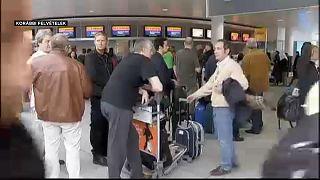 Töröltek sok Lufthansa- és Air France-járatot