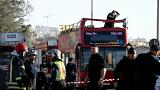 Two killed and six critical after tour bus hits tree branches in Malta