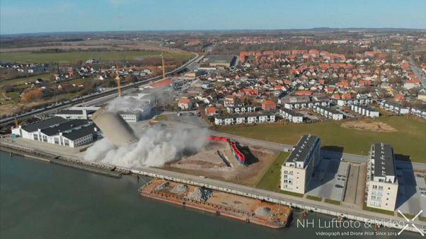 Une démolition mal planifiée au Danemark