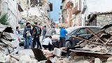 صورة من الأرشيف للدمار الذي خلفه زلزال 2016 الذي ضرب وسط إيطاليا. (رويتروز)