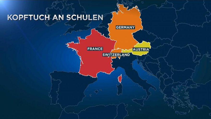 Avrupa ülkeleri okullarda başörtüsünü farklı yöntemlerle yasaklama yoluna gidiyor