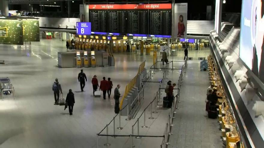 Thousands stranded as public sector & ground staff strike hits German airports