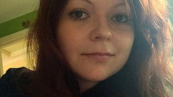 Yulia Skripal já teve alta do hospital