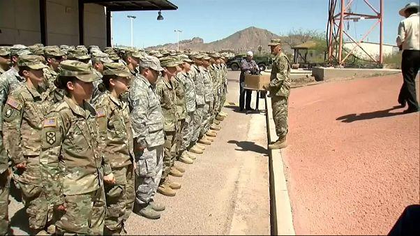 ABD Ulusal Muhafız birlikleri Meksika sınırında