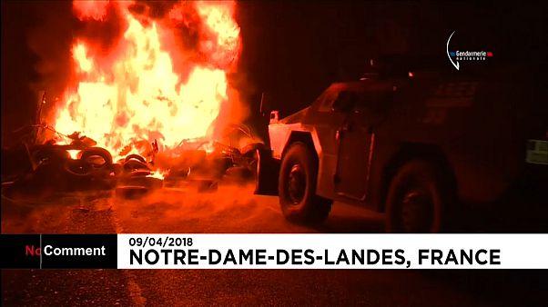 Notre-Dame-des-Landes : affrontements lors de l'opération d'expulsions