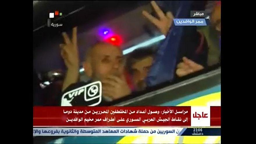 Απελευθερώθηκαν όμηροι από την Ντούμα