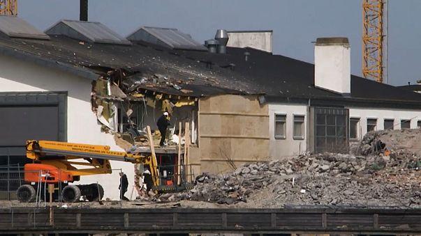 Demolição corre mal na Dinamarca