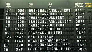 Miles de pasajeros afectados por las huelgas en Francia y Alemania