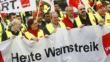 Deutschland: Bundesweite Warnstreiks im öffentlichen Dienst