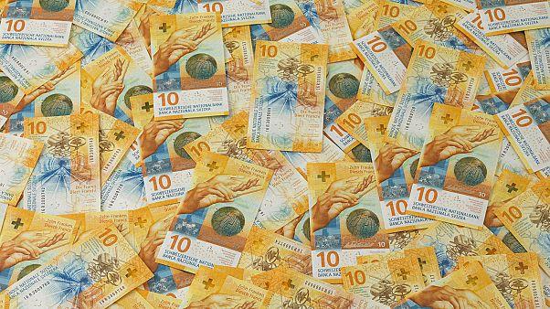 Suiza gana el premio al mejor billete de banco