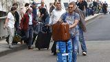 Γαλλία - Γερμανία: «Οδύσσεια» για τους επιβάτες