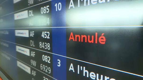 Sztrájkok Európa repülőterein