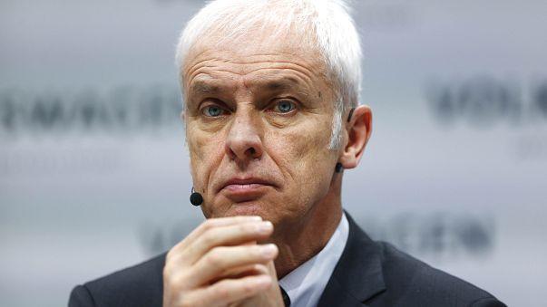 Medien: VW-Chef Matthias Müller (64) räumt seinen Posten