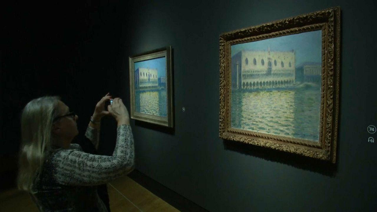 Monet und die Architektur - Ausstellung in London