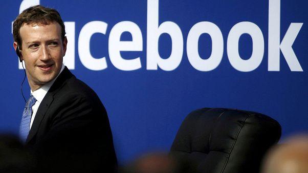 Le patron de Facebook Mark Zuckerberg
