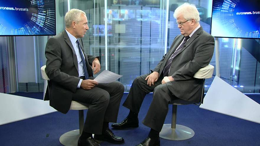 Russia's ambassador to the EU talks to euronews