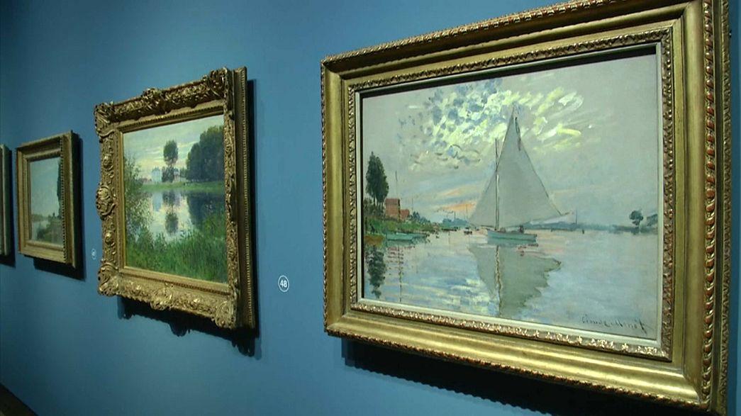"Resimde Fransız Devrimi Londra'da: ""Claude Monet ve Mimari"""