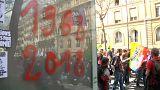 Fransa: Eğitim reformuna itiraz eden öğrenciler sokakta