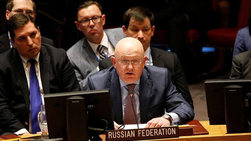 Совбез ООН не смог принять резолюцию по химической атаке